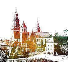 Cracow Wawel by JBJart