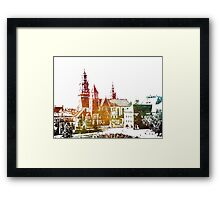 Cracow Wawel Framed Print