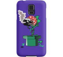 Piranha Bites The Bullet Samsung Galaxy Case/Skin