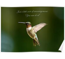 Encouragement Poster