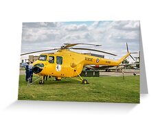 Bristol Sycamore HR.14  XJ380 Greeting Card