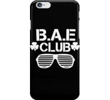 B.A.E Club iPhone Case/Skin
