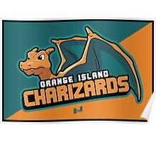 Orange Island Charizards Team Poster