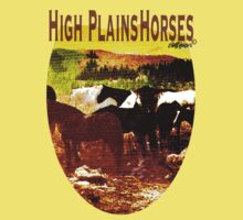 High Plains Horses T T-Shirt