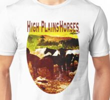 High Plains Horses T Unisex T-Shirt