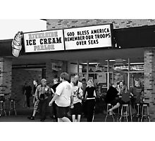 """""""The best ice cream in town! Photographic Print"""