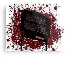 Bates Motel - Alfred Hitchcock Metal Print