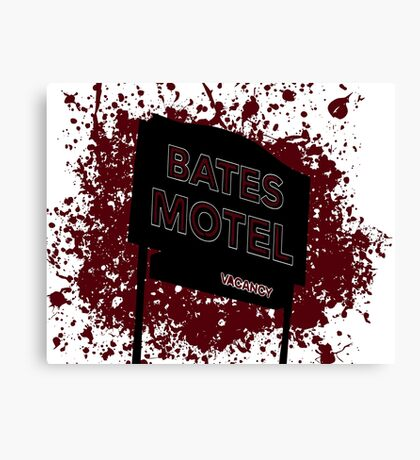 Bates Motel - Alfred Hitchcock Canvas Print