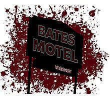 Bates Motel - Alfred Hitchcock Photographic Print