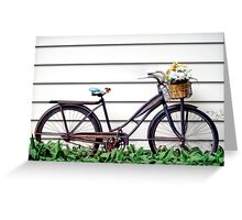 Old Bike Greeting Card