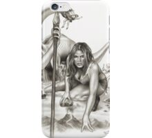 Cave Girls On The Lost World iPhone Case/Skin