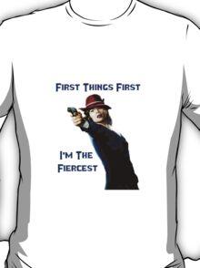 Agent Carter - First Things First I'm The Fiercest T-Shirt