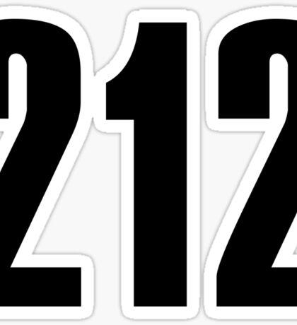 212 New York | Phone Area Code Shirts Sticker