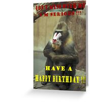 071906-2   BIRTHDAY CARD Greeting Card