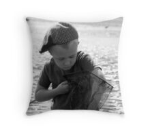 Gone fishing!!! Throw Pillow