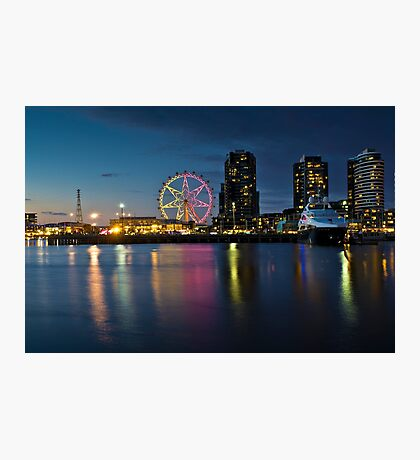 Docklands Victoria Harbour and New Quay Melbourne Photographic Print