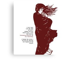 Handmaid's Tale - Literary Quote Canvas Print