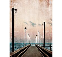 Community Pier Photographic Print