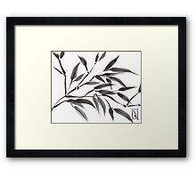 Gentle Expression Framed Print