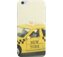 New York Taxi Cab iPhone Case/Skin