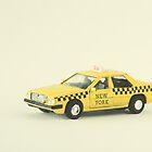 New York Taxi Cab by Debbra Obertanec