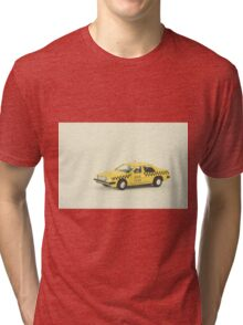 New York Taxi Cab Tri-blend T-Shirt