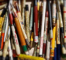 Pencils & Pens by Robert Baker
