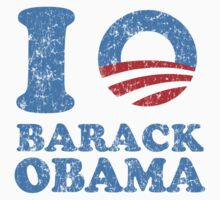 I Love Barack Obama shirt by barackobama