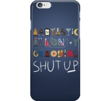 Words to Save the World By iPhone Case/Skin