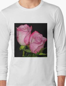Two Rose buds Long Sleeve T-Shirt