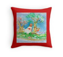 My Valentine Designer Throw Pillow in Red Throw Pillow