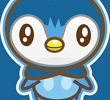 Piplup  by Skull And Cubone Society