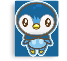 Piplup  Canvas Print
