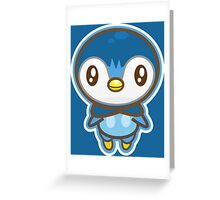 Piplup  Greeting Card