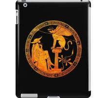 Man and Sphinx iPad Case/Skin