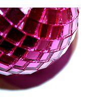 Disco Bauble Photographic Print