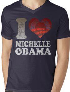 I love Michelle Obama t shirt Mens V-Neck T-Shirt