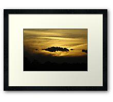 Light Day - Dark Night Framed Print