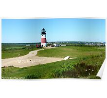 #492  Sankety Lighthouse  - Nantucket, Massachusetts Poster