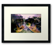 CHANGE IS COMING Framed Print