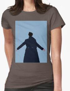 Sherlock The Reichenbach Fall Womens Fitted T-Shirt
