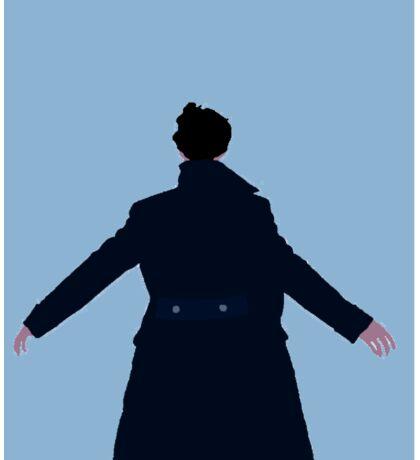 Sherlock The Reichenbach Fall Sticker