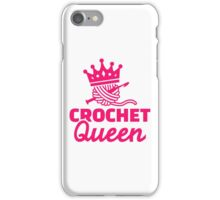Crochet queen iPhone Case/Skin