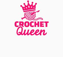 Crochet queen Womens Fitted T-Shirt