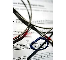 String and Note Photographic Print
