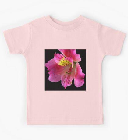 Pink flower Kids Tee