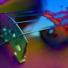 Abstract Violin by Sophie Matthews