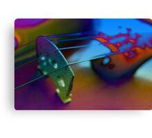 Abstract Violin Canvas Print