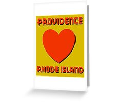 PROVIDENCE, RHODE ISLAND Greeting Card