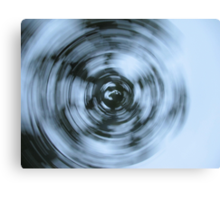Spinny Shots Canvas Print
